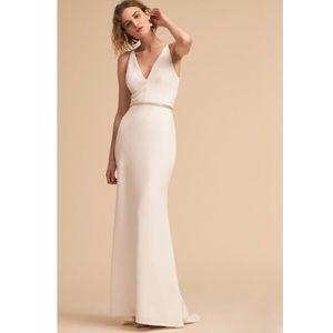 BHLDN Ivory Jones Dress